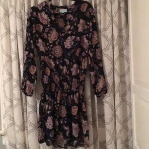 Veronica M Floral Dress, Size M